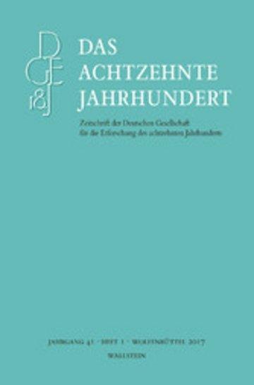 eBook Das achtzehnte Jahrhundert 41/1 Cover