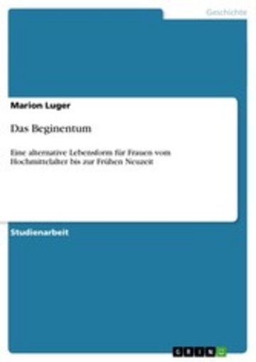 eBook Das Beginentum Cover
