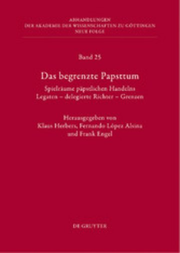 eBook Das begrenzte Papsttum Cover