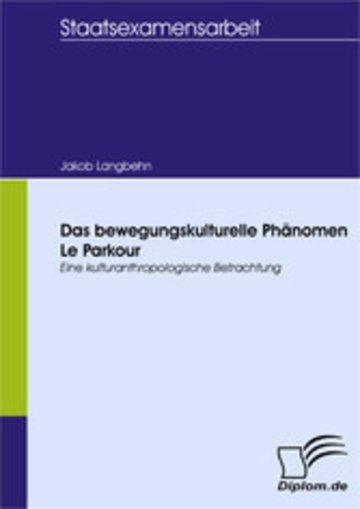 eBook Das bewegungskulturelle Phänomen Le Parkour Cover