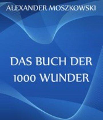eBook Das Buch der 1000 Wunder Cover