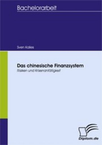 eBook Das chinesische Finanzsystem Cover