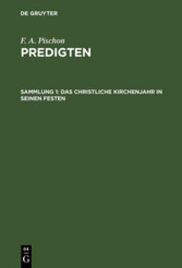 eBook Das christliche Kirchenjahr in seinen Festen Cover