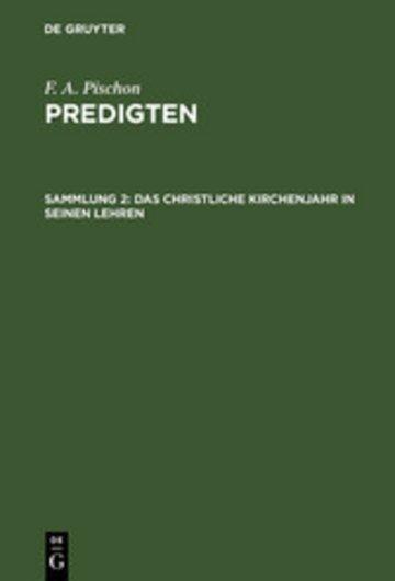 eBook Das christliche Kirchenjahr in seinen Lehren Cover