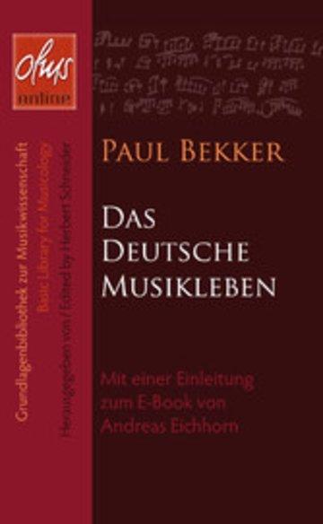 eBook Das deutsche Musikleben Cover