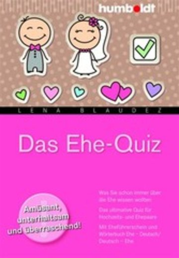 eBook Das Ehe-Quiz Cover