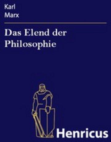 eBook Das Elend der Philosophie Cover
