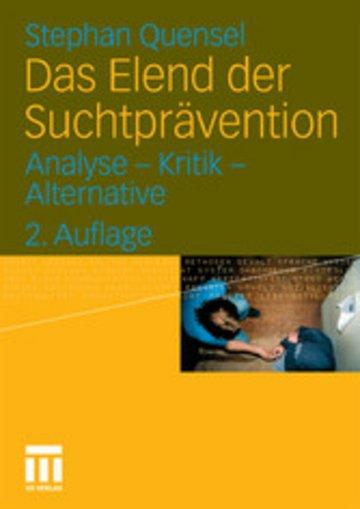 eBook Das Elend der Suchtprävention Cover