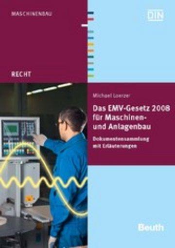 eBook Das EMV-Gesetz 2008 für Maschinen- und Anlagenbau Cover