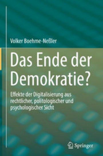 eBook Das Ende der Demokratie? Cover