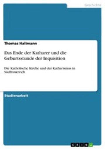 eBook Das Ende der Katharer und die Geburtsstunde der Inquisition Cover