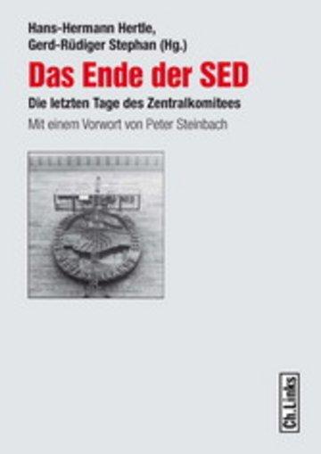 eBook Das Ende der SED Cover