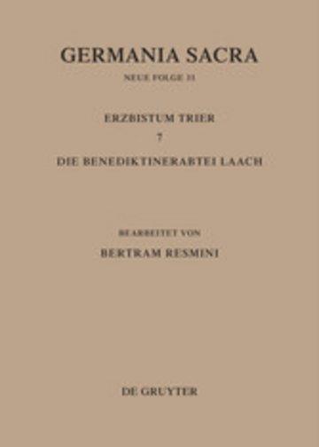 eBook Das Erzbistum Trier 7. Die Benediktinerabtei Laach Cover
