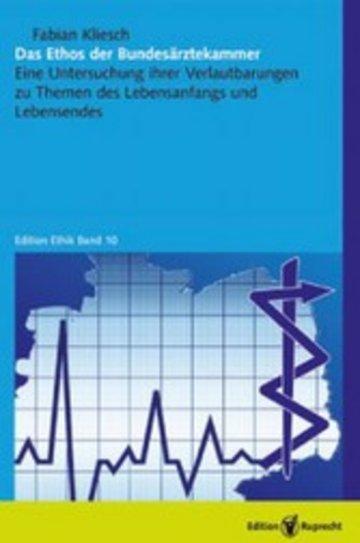 eBook Das Ethos der Bundesärztekammer Cover