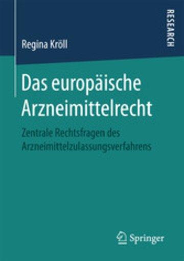 eBook Das europäische Arzneimittelrecht Cover