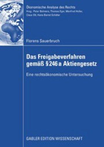 eBook Das Freigabeverfahren gemäß § 246a Aktiengesetz Cover