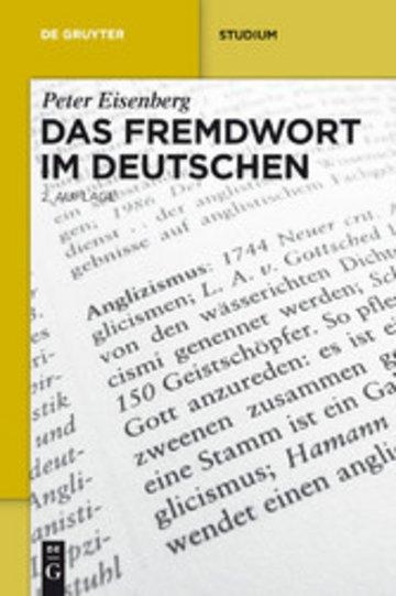 eBook Das Fremdwort im Deutschen Cover