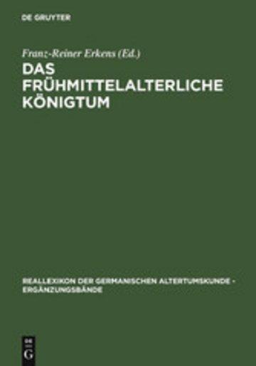 eBook Das frühmittelalterliche Königtum Cover