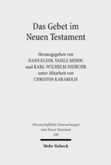 eBook Das Gebet im Neuen Testament Cover