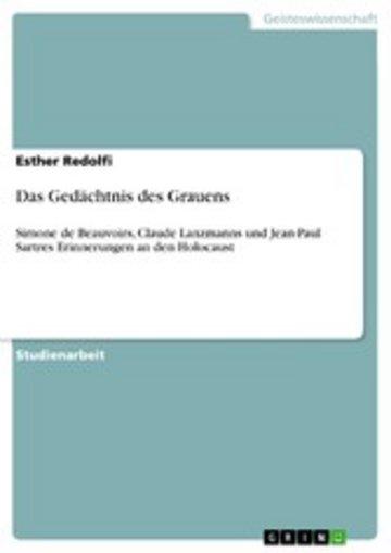 eBook Das Gedächtnis des Grauens Cover