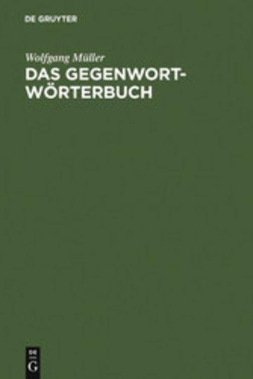 eBook Das Gegenwort-Wörterbuch Cover