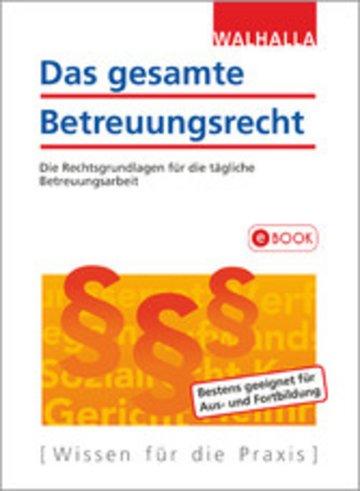 eBook Das gesamte Betreuungsrecht Cover