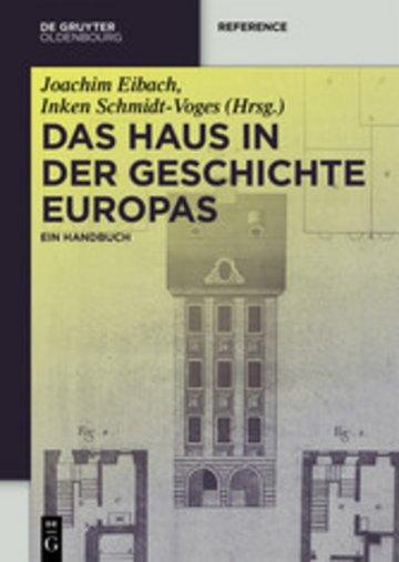eBook Das Haus in der Geschichte Europas Cover