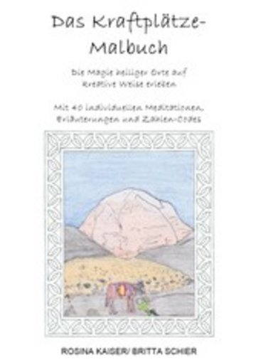 eBook Das Kraftplätze - Malbuch Cover