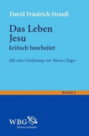 eBook Das Leben Jesu. kritisch bearbeitet Cover