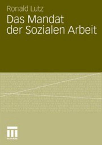eBook Das Mandat der Sozialen Arbeit Cover