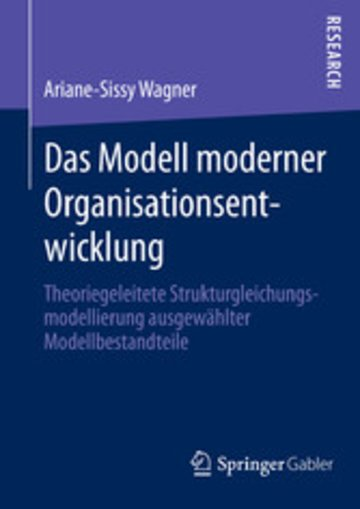 eBook Das Modell moderner Organisationsentwicklung Cover