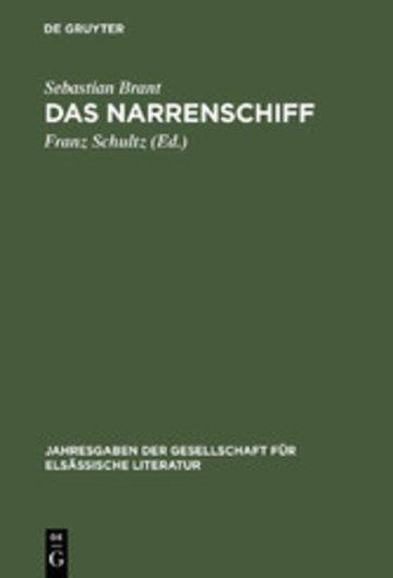 eBook Das Narrenschiff Cover