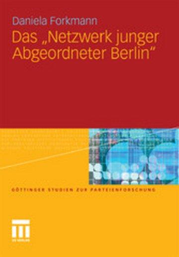 eBook Das 'Netzwerk junger Abgeordneter Berlin' Cover