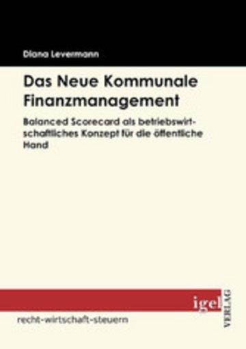 eBook Das Neue Kommunale Finanzmanagement Cover
