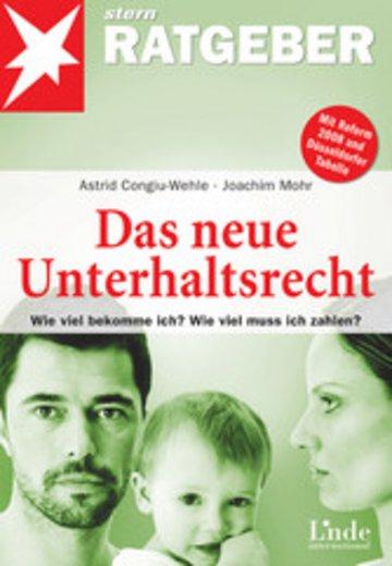 eBook Das neue Unterhaltsrecht Cover