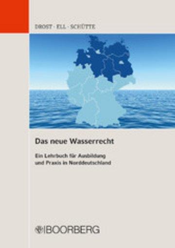 eBook Das neue Wasserrecht Cover