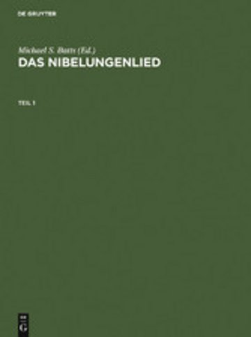 eBook Das Nibelungenlied Cover
