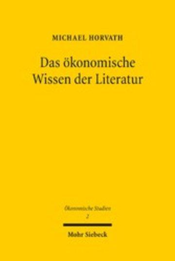eBook Das ökonomische Wissen der Literatur Cover