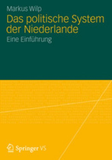 eBook Das politische System der Niederlande Cover