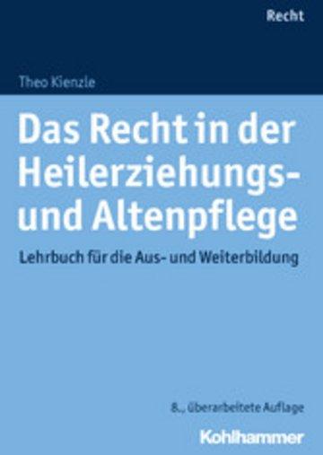 eBook Das Recht in der Heilerziehungs- und Altenpflege Cover