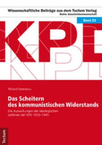 eBook Das Scheitern des kommunistischen Widerstands Cover