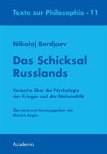 eBook Das Schicksal Russlands Cover