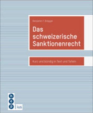 eBook Das schweizerische Sanktionenrecht Cover