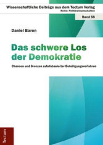 eBook Das schwere Los der Demokratie Cover