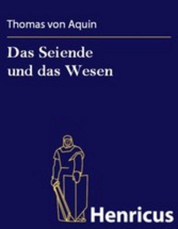 eBook Das Seiende und das Wesen Cover