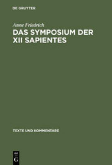 eBook Das Symposium der XII sapientes Cover