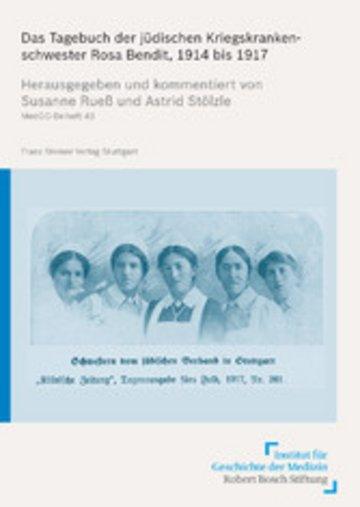 eBook Das Tagebuch der jüdischen Kriegskrankenschwester Rosa Bendit, 1914 bis 1917 Cover