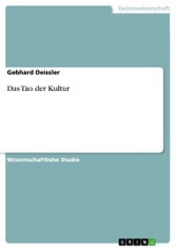 eBook Das Tao der Kultur Cover