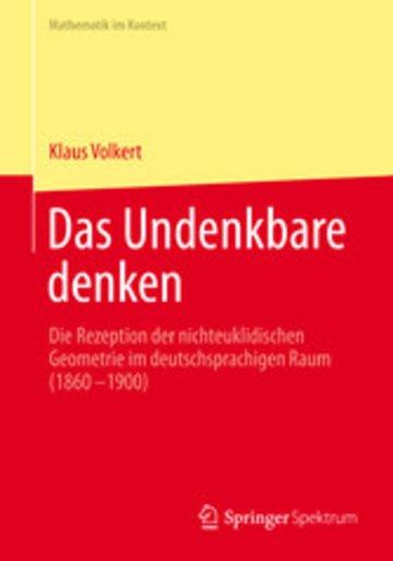 eBook Das Undenkbare denken Cover