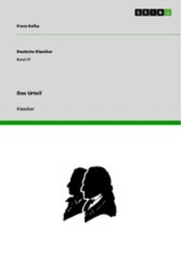 eBook Das Urteil Cover